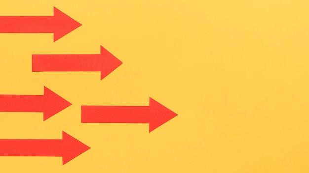 Kierunek Bramki Wskazywany Przez Strzałki Darmowe Zdjęcia
