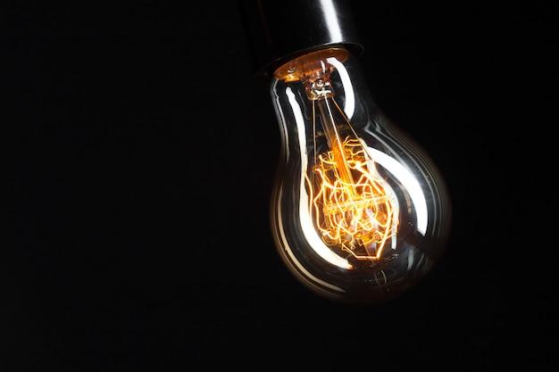 Klasyczna żarówka Edisona Premium Zdjęcia