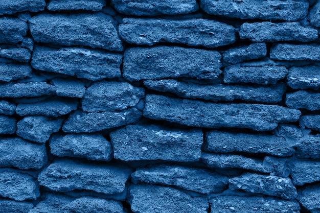 Klasyczny Niebieski Kolor Roku 2020. Tło Natury Premium Zdjęcia