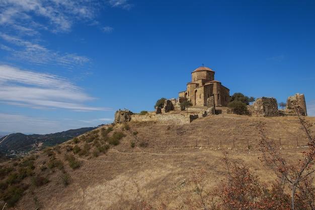 Klasztor Jvari W Pobliżu Miasta Mccheta W Gruzji Premium Zdjęcia