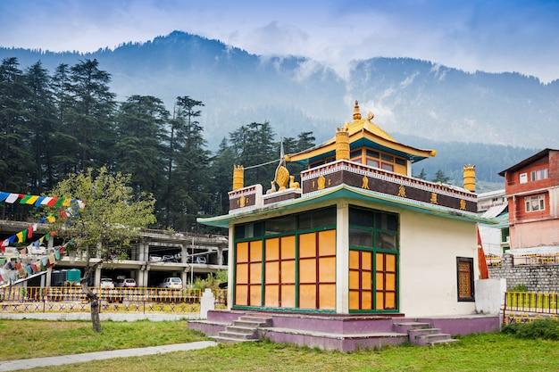 Klasztor Tybetański Premium Zdjęcia