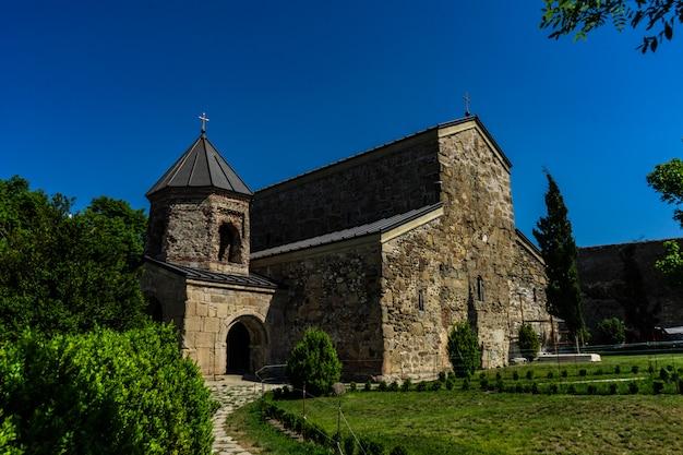 Klasztor Zedazeni W Gruzji Premium Zdjęcia