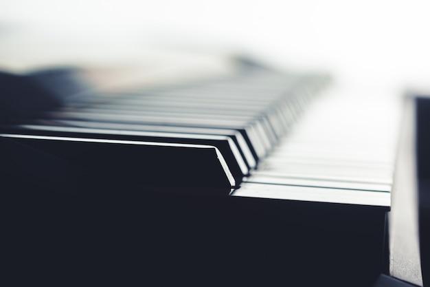 Klawiatura Fortepianowa Premium Zdjęcia