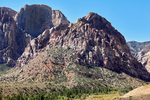 Klify W Red Rock Canyon, Nevada, Usa Premium Zdjęcia