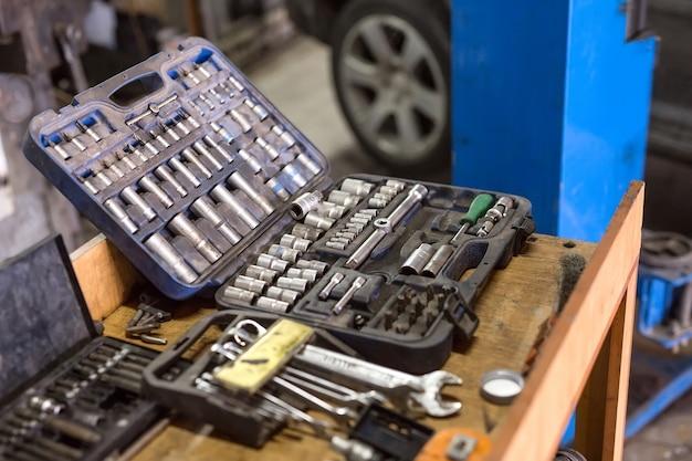 Klucze Do Napraw Samochodów Premium Zdjęcia