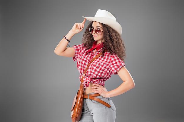 Kobieta Mody Cowgirl Darmowe Zdjęcia