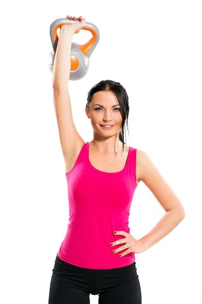 Kobieta podczas ćwiczeń fitness Darmowe Zdjęcia