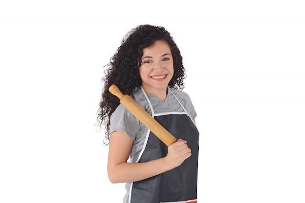 Kobieta szefa kuchni Premium Zdjęcia