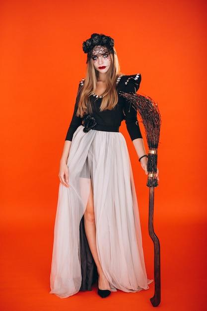 Kobieta W Stroju Na Halloween Darmowe Zdjęcia