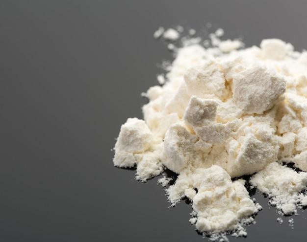 Kokaina Na Szaro Premium Zdjęcia