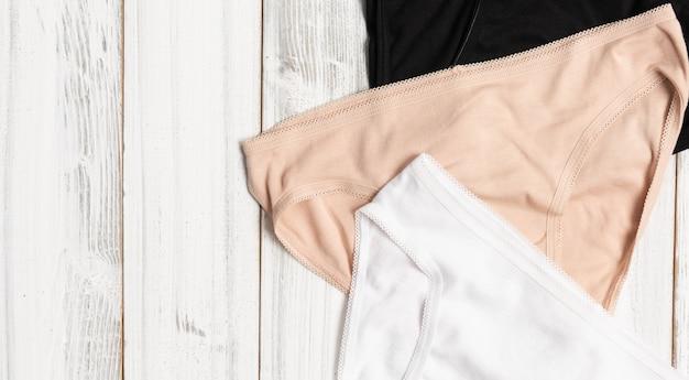 Kolekcja majtki damskie Premium Zdjęcia