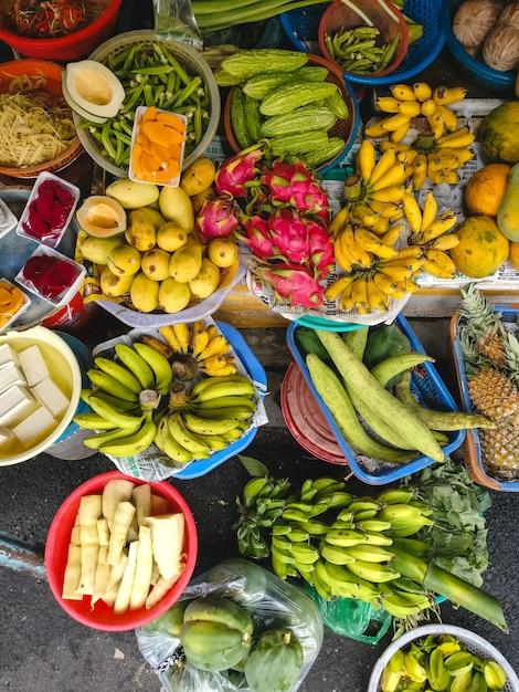 Kolorowa Mieszanka Tropikalnych Owoców Darmowe Zdjęcia