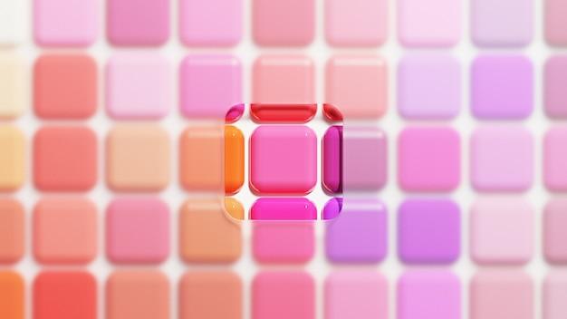 Kolorowa Paleta Szminek, Kolekcja Lipstick Premium Zdjęcia