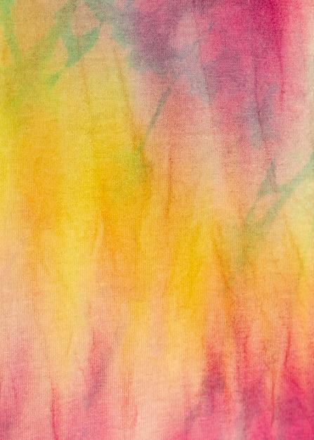 Kolorowa Powierzchnia Tkaniny Tie-dye Darmowe Zdjęcia