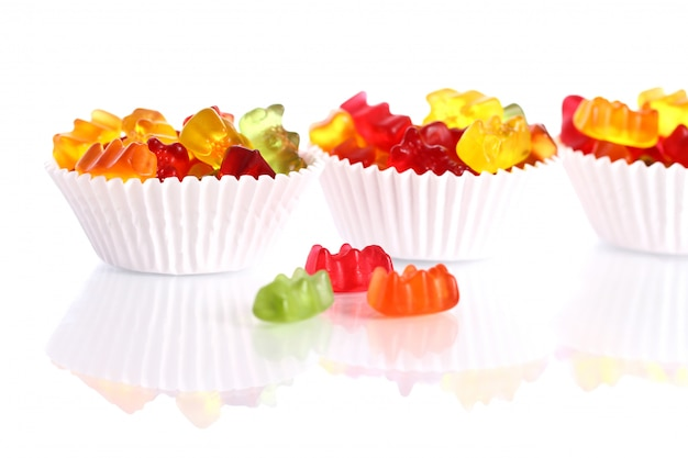 Kolorowe Cukierki Gumowatego Misia Darmowe Zdjęcia