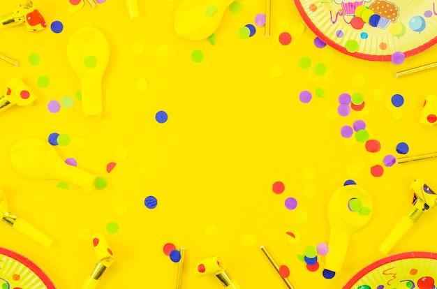 Kolorowe Elementy Dekoracyjne Urodziny Darmowe Zdjęcia