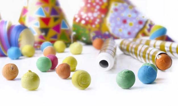 Kolorowe kotylony na imprezę Premium Zdjęcia