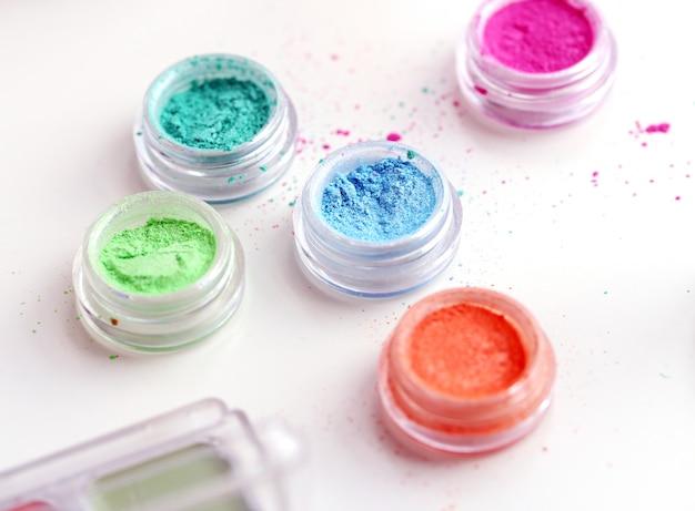 Kolorowe pudry kosmetyczne Darmowe Zdjęcia