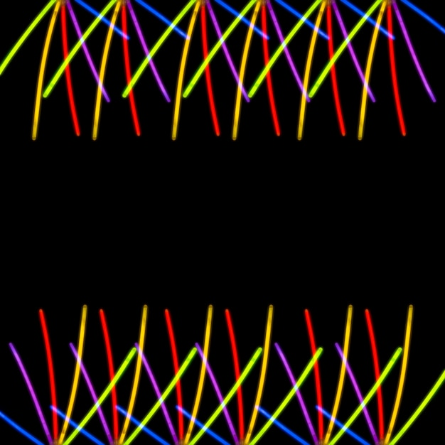 Kolorowe światło Na Czarnym Tle Darmowe Zdjęcia