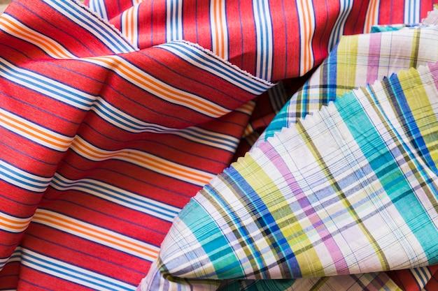 Kolorowe tkaniny składane tło Darmowe Zdjęcia