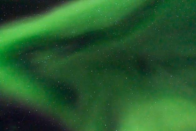 Kolorowe zorza polarna na niebie Premium Zdjęcia