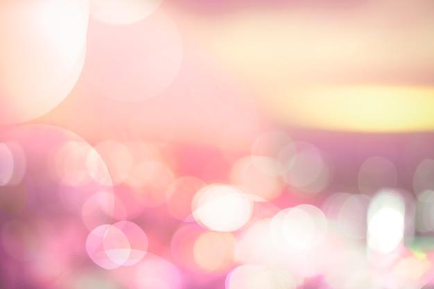 Kolorowy Bokeh Zaświeca Tło Darmowe Zdjęcia