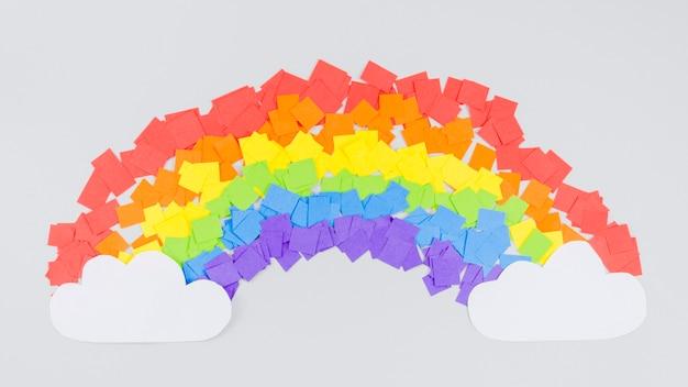 Kolorowy Dzień Dumy Tęczy Kolaż Darmowe Zdjęcia