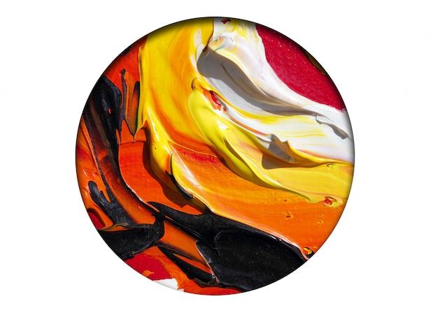 Kolorowy Koloru Abstrakta Tło. Premium Zdjęcia