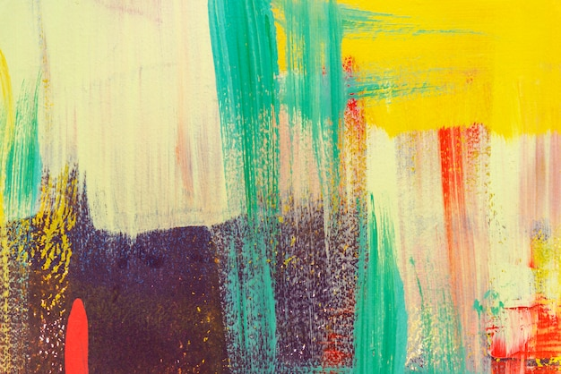 Kolorowy malujący na betonowej ścianie. abstrakcjonistyczny tło. tło retro i vintage. Premium Zdjęcia