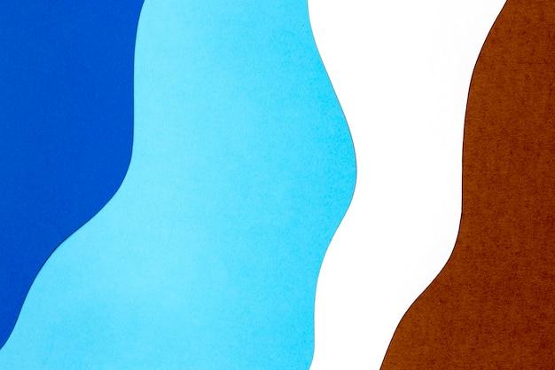 Kolorowy Papier Kształtuje Styl Tła Darmowe Zdjęcia