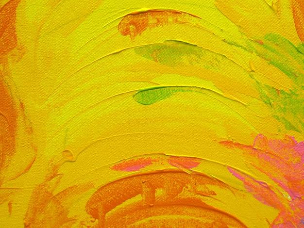 Kolorowych słodkich kolorów tła abstrakcjonistyczna nafciana farba. Premium Zdjęcia