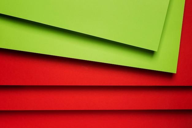 Kompozycja Kolorowych Arkuszy Papieru Darmowe Zdjęcia