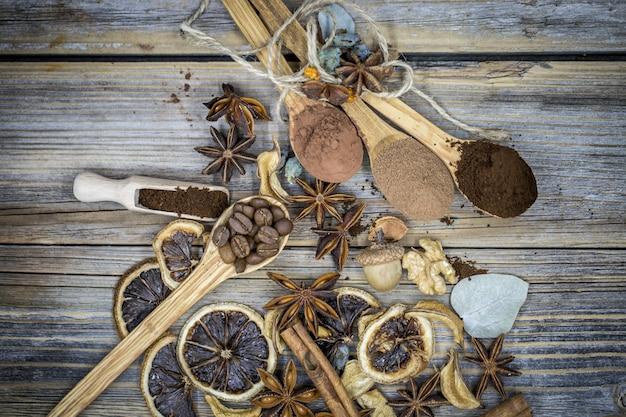 Kompozycja Suszonej Cytryny, Kawa Cynamonowa Darmowe Zdjęcia