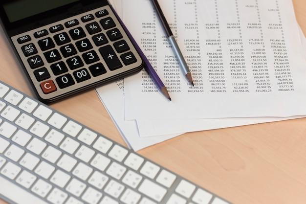 Koncepcja analizy rachunkowości finansowej Premium Zdjęcia