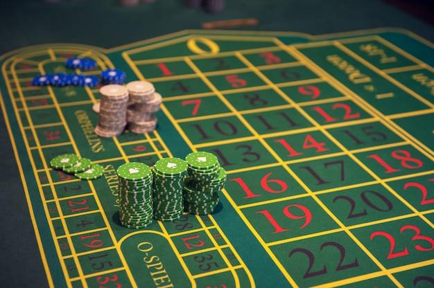 Koncepcja kasyna, hazardu i rozrywki Premium Zdjęcia