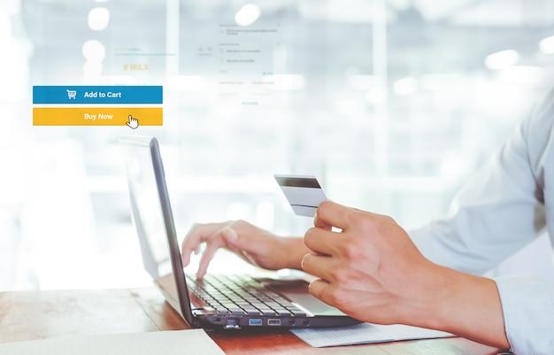 Koncepcja Marketingu Biznesowego Online Premium Zdjęcia