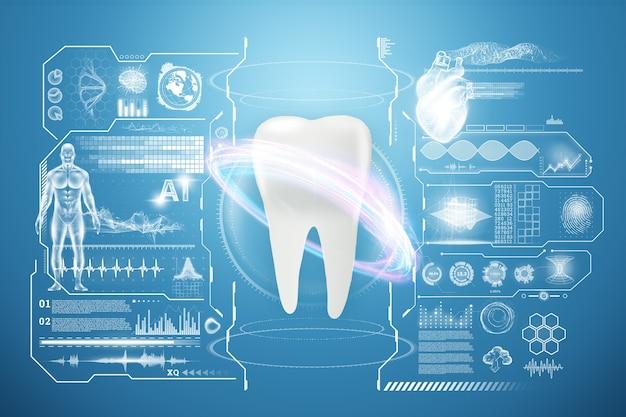 Koncepcja Medycyny, Nowe Technologie, Higiena Jamy Ustnej, Protetyka Stomatologiczna Premium Zdjęcia