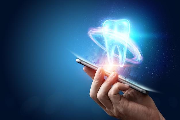 Koncepcja Medycyny, Nowe Technologie, Protetyka Stomatologiczna Premium Zdjęcia