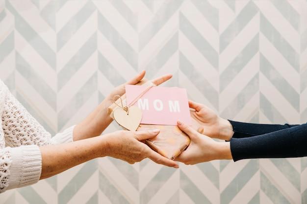 Koncepcja Prezenty Na Dzień Matki Darmowe Zdjęcia