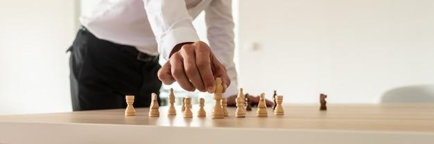 Koncepcja Przywództwa W Biznesie Premium Zdjęcia