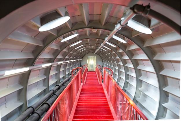 Koncepcja schody czerwony sukces. Premium Zdjęcia