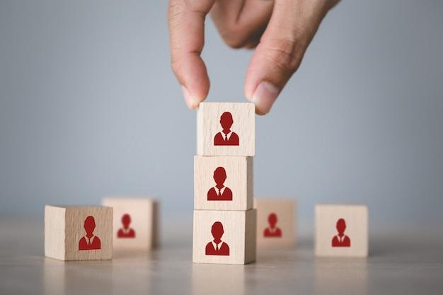 Koncepcja Zarządzania Zasobami Ludzkimi I Rekrutacji, Strategia Biznesowa Na Sukces. Premium Zdjęcia