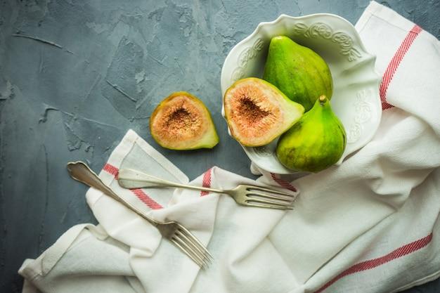 Koncepcja żywności ekologicznej Premium Zdjęcia