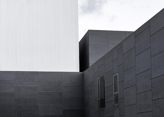 Konstrukcja Betonowa W Mieście Z Miejscem Na Kopię Darmowe Zdjęcia