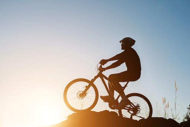 Kontur wycieczka rowerowa rowerzysta sportowy Darmowe Zdjęcia