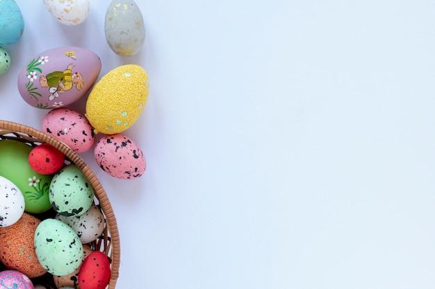 Kopia Kosz Z Pisankami Na Wielkanoc Darmowe Zdjęcia