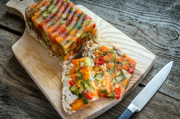 Korniszon Z Warzywami Premium Zdjęcia