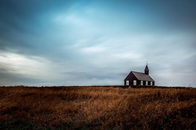 Kościół Budir - Búðakirkja, Islandia Darmowe Zdjęcia