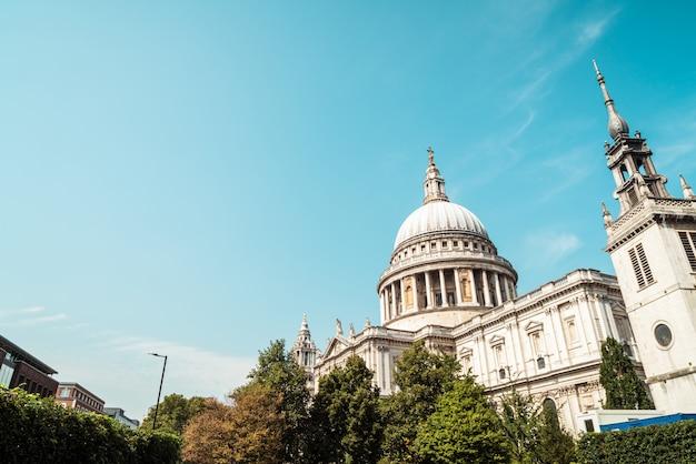 Kościół Katedralny św. Pawła W Londynie, Wielka Brytania. Premium Zdjęcia