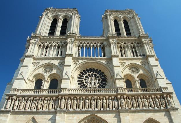 Kościół Notre Dame W Paryżu Premium Zdjęcia